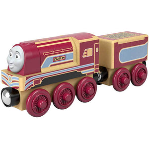 Thomas & Friends Wood Toy Train Engine - Caitlin