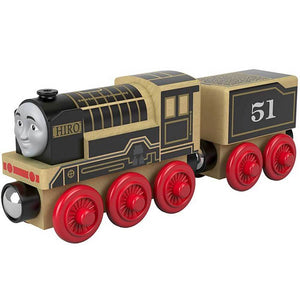 Thomas & Friends Wood Toy Train Engine - Hiro