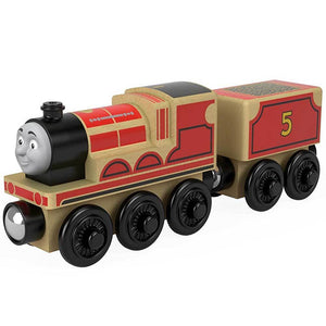 Thomas & Friends Wood Toy Train Engine - James