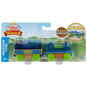 Thomas & Friends Wooden Railway Aquarium Car 2-Pack