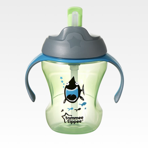 Tommee Tippee Closer to Nature Weaning Straw Cup 230ml - Boy