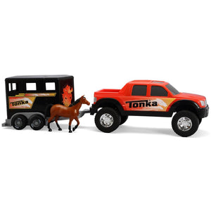 Tonka 4 x 4 Off Road Hauler with Horse Trailer
