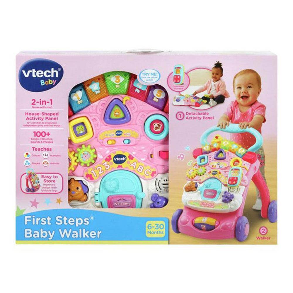 vtech baby  Buy Vtech First Steps Baby Walker Refresh Pink Online at Toy Universe