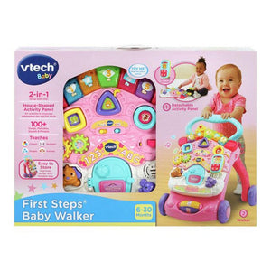 Vtech Baby First Steps Baby Walker Refresh - Pink