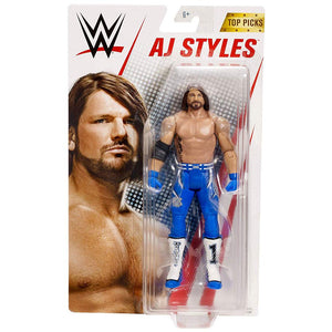 WWE 6-inch Top Talents AJ Styles Action Figure