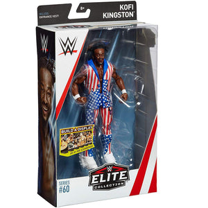 WWE Elite Collection Action Figure Series 60 Kofi Kingston