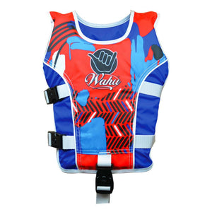 Wahu Swim Vest Child Medium in Red