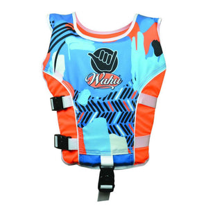 Wahu Swim Vest Child Small in Orange