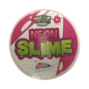 Weird Science Neon and Glow Slime Pink