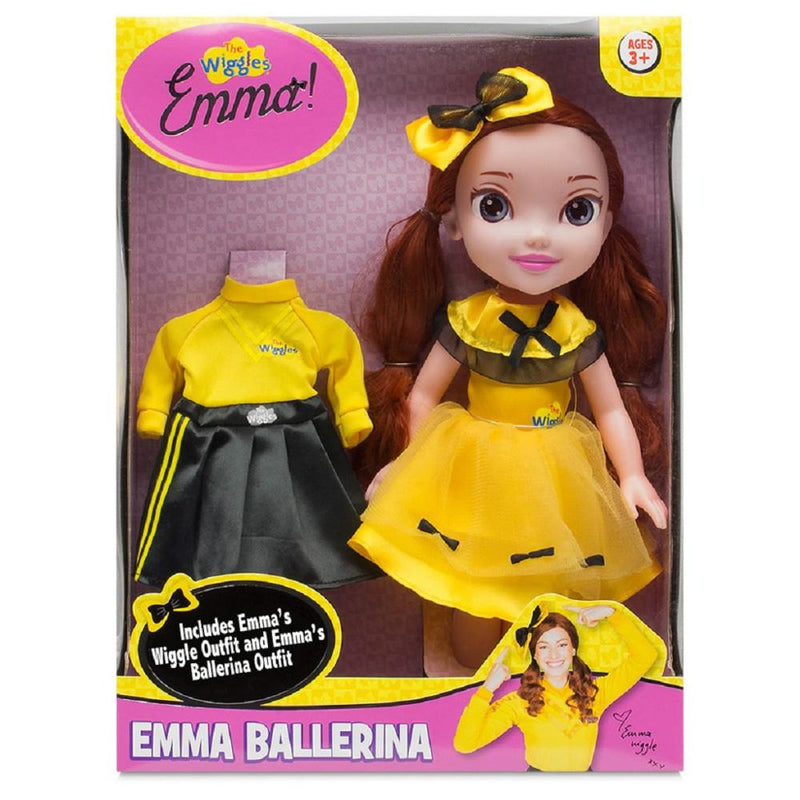 bd308d9dd165c Wiggles Emma 15-inch Doll with Ballerina Outfit | Buy Wiggles Toys Online