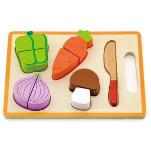 Wooden Cutting Vegetable Set