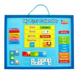 Toy Universe Brands Wooden Magnetic My First Learning Calendar - Buy Online
