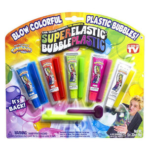 Wubble Bubble Super Elastic Bubble Plastic Deluxe Set - 5 Pack