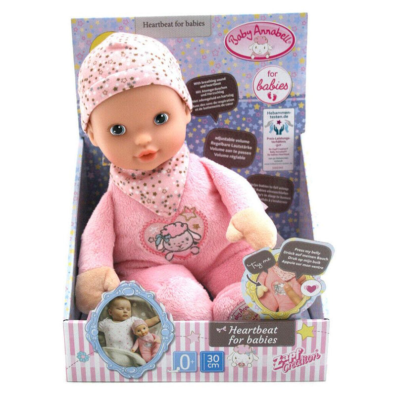 Baby Annabell Heartbeat Doll - 30cm | Buy Online at Toy ...