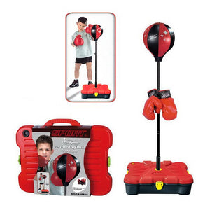 Kids Boxing Ball with Gloves