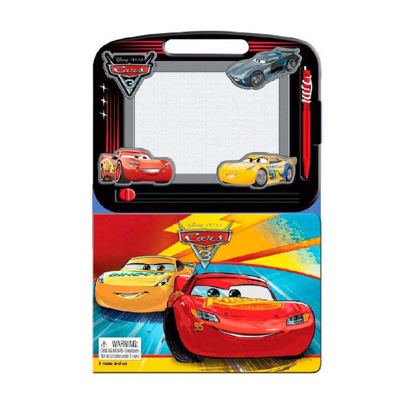 Disney Disney Cars 3 Learning Book with Magnetic Drawing Pad - Buy Online