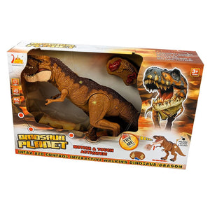 Dinosaur Planet Infrared RC Walking & Roaring T-Rex Dino