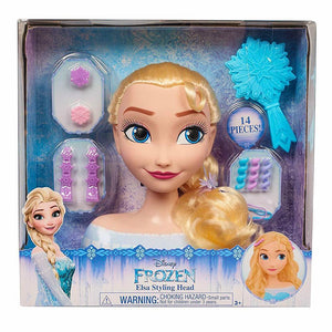 Disney Princess Elsa Styling Head