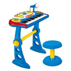 Electronic Kids Toy Keyboard in Blue