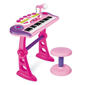 Electronic Kids Toy Keyboard Pink