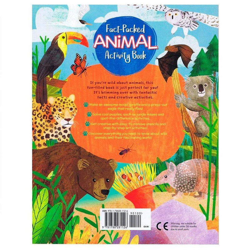 Books Fact-Packed Animal Activity Book - Buy Online