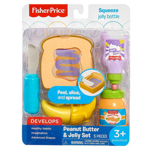 Fisher Price Food Sets Peanut Butter And Jelly