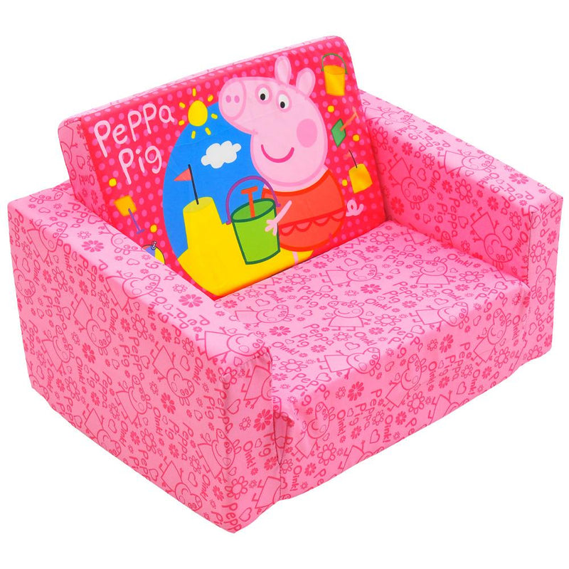 Astounding Peppa Pig Holidays Flip Out Sofa For Kids Beatyapartments Chair Design Images Beatyapartmentscom