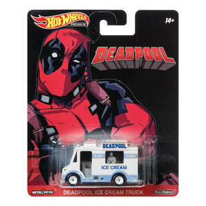 Hot Wheels Premium Deadpool Ice Cream Truck