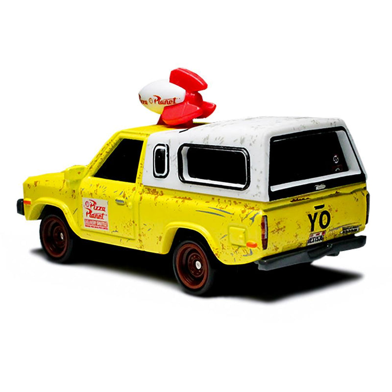 BRAND NEW 2019 HOTWHEELS TOY STORY PIZZA PLANET TRUCK