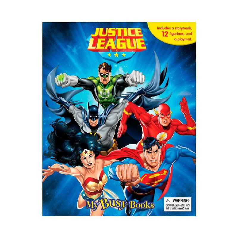 DC Comics Justice League My Busy Books - Buy Online