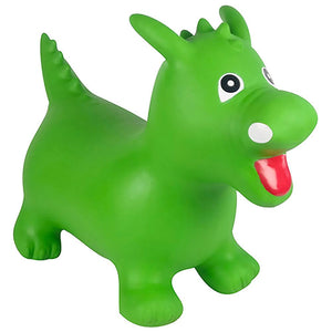 Kidi Hoppers Green Dinosaur Hopper