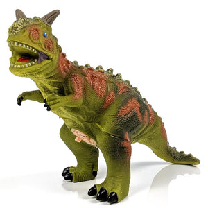 Large Vinyl Micropachycephalosaurus Dinosaur with Sounds