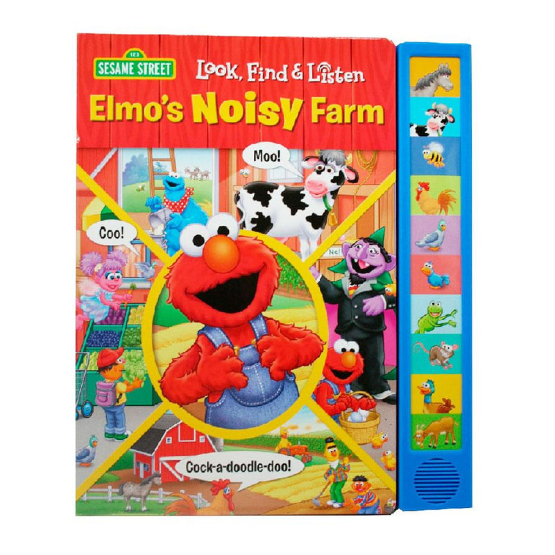 Sesame Street Sesame Street Look Find and Listen Elmos Noisy Farm - Buy Online