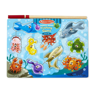 Melissa and Doug Fishing Magnetic Puzzle Game