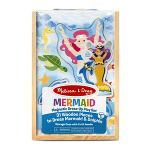 Melissa and Doug Merry Mermaid Magnetic Dress-Up Set