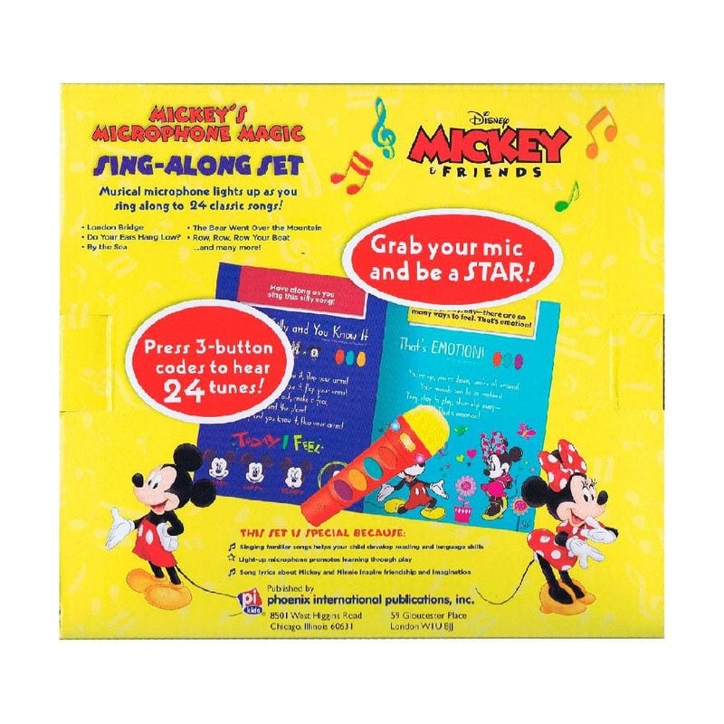 Disney Disney Mickey and Friends Microphone Book Boxset - Buy Online