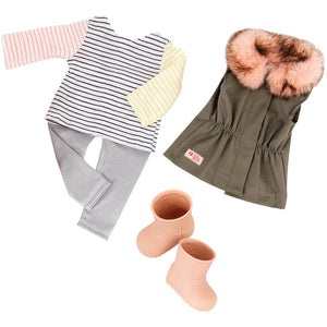Our Generation Fun Fur Fall Doll Clothes