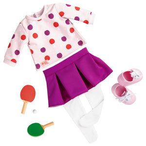 Our Generation Ping Pong Pro Doll Clothes