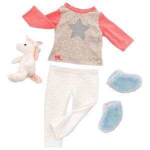 Our Generation Unicorn Wishes Doll Clothes
