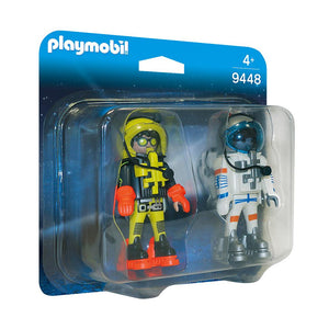 Playmobil Space Astronauts Figures