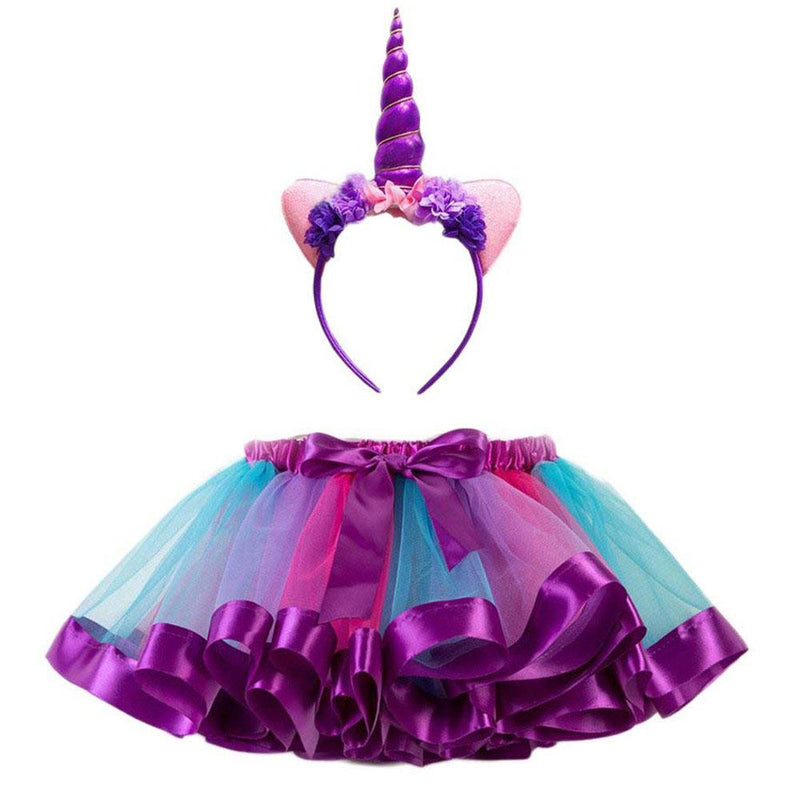 Buy Unicorn Tutu with Headband in Purple - Medium online at Toy Universe