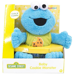 Sesame Street Baby Plush Cookie Monster