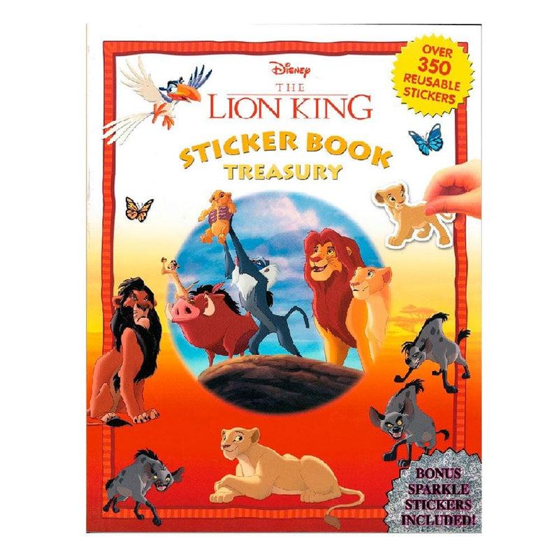 Disney The Lion King Sticker Book Treasury - Buy Online