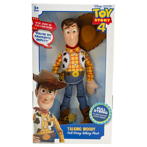 Toy Story 4 Talking Plush Woody
