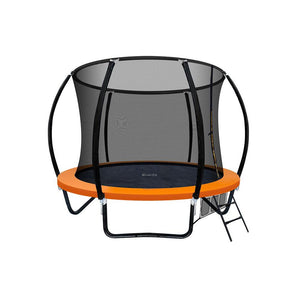 Everfit 8ft Spring Trampoline  - Orange