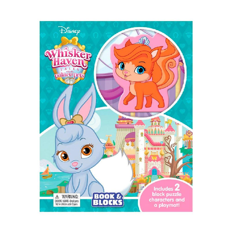 Disney Whisker Haven Tales With The Palace Pets Book and Blocks - Buy Online