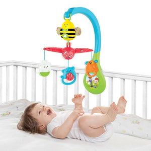 Busy Bee 3 in 1 Baby Mobile with Music