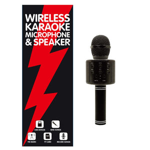 Wireless Karaoke Microphone and Speaker