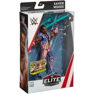 WWE Elite Collection Action Figure Series 60 Xavier Woods
