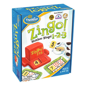 Zingo 123 Game by ThinkFun